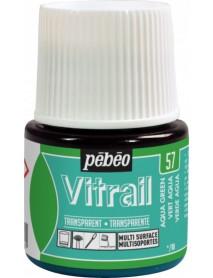 ΣΜΑΛΤΟ ΔΙΑΦΑΝΟ PEBEO VITRAIL 45ml AQUA GREEN