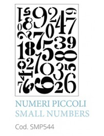 STENCIL A5 SMALL NUMBERS