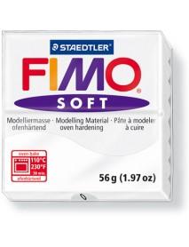 ΠΛΑΚΙΔΙΟ FIMO SOFT 56GR WHITE