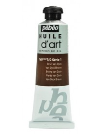 ART OIL 37ML VAN DYCK BROWN