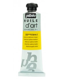 ART OIL 37ML MEDIUM CADMIUM YELLOW
