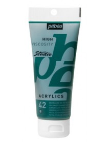 ACRYLIC STUDIO 100ML PHTHALOCYANINE GREEN