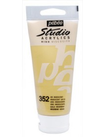 ACRYLIC STUDIO 100ML GOLD