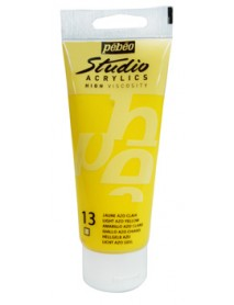 ACRYLIC STUDIO 100ML LIGHT AZO YELLOW