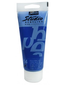 ACRYLIC STUDIO 100ML COBALT BLUE