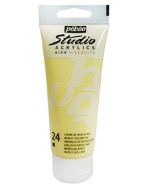 ACRYLIC STUDIO 100ML NAPLES YELLOW