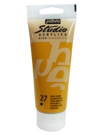 ACRYLIC STUDIO 100ML YELLOW OCHRE
