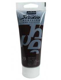 ACRYLIC STUDIO 100ML BURNT UMBER