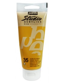 ACRYLIC STUDIO 100ML VENICE YELLOW