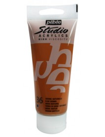 ACRYLIC STUDIO 100ML RAW SIENNA