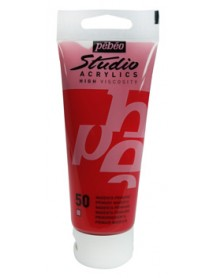 ACRYLIC STUDIO 100ML PRIMARY MAGENTA