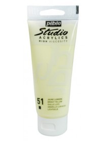ACRYLIC STUDIO 100ML BRIGHT YELLOW