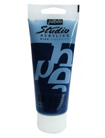 ACRYLIC STUDIO 100ML PRUSSIAN BLUE HUE