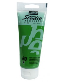 ACRYLIC STUDIO 100ML CHROME GREEN HUE