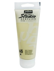 ACRYLIC STUDIO 100ML BUFF TITANIUM