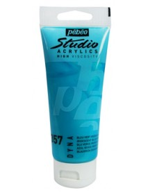 ACRYLIC STUDIO 100ML IRID. BLUE GREEN