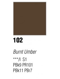 GOUACHE T7 20ML BURNT UMBER