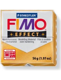 ΠΛΑΚΙΔΙΟ FIMO EFFECT 56GR GOLD METALLIC