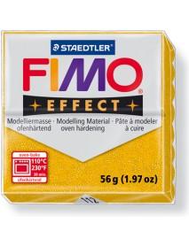 ΠΛΑΚΙΔΙΟ FIMO EFFECT 56GR GOLD GLITTER