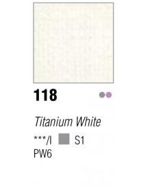 ACRYLIC 37ML EXTRA FINE TITANIUM WHITE