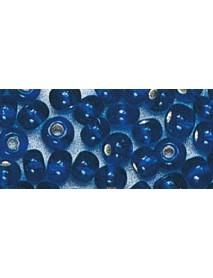 ROCAILLES 2ΜΜ 17GR,SILVER INLET DARK BLUE