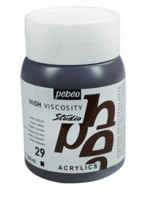 ACRYLIC STUDIO 500ML BURNT UMBER