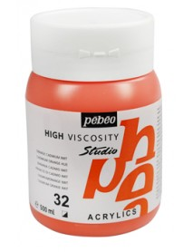 ACRYLIC STUDIO 500ML ORANGE CADMIUM HUE