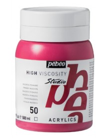 ACRYLIC STUDIO 500ML MAGENTA PRIMARY