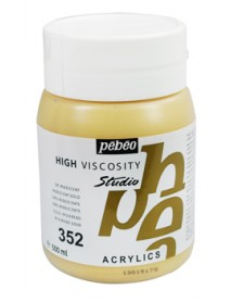 ACRYLIC STUDIO 500ML IRID. GOLD