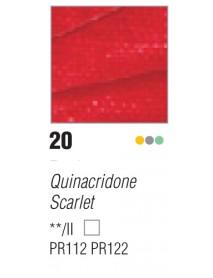 ACRYLIC STUDIO 250ML QUINACRIDONE  SCARLET