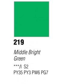 GOUACHE T7 20ML MIDDLE BRIGHT GR