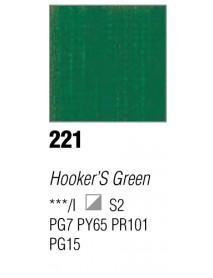 ACRYLIC 37ML EXTRA FINE HOOKER'S GREEN