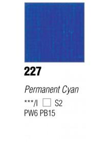 ACRYLIC 37ML EXTRA FINE CYAN PERMANENT