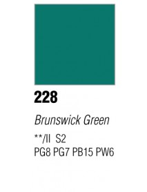 GOUACHE T7 20ML BRUNSWICK GREEN