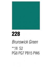 GOUACHE T7 20ML BRUNSWICK GREEN