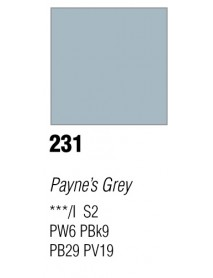 GOUACHE T7 20ML PAYNE'S GREY