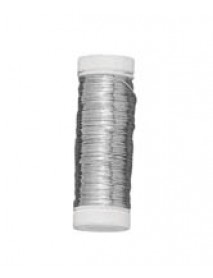 SILVER PLATED WIRE 0.3MM 50M