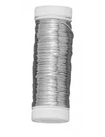 SILVER PLATED WIRE 0.25MM 100M