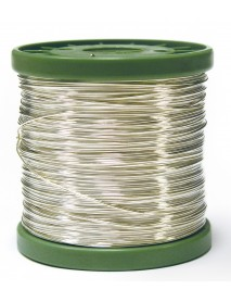 SILVER PLATED WIRE 0.4MM 880M