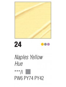 ACRYLIC STUDIO 500ML NAPLES YELLOW HUE