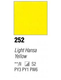 ACRYLIC 37ML EXTRA FINE LIGHT HANSA YELLOW