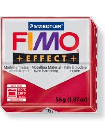 ΠΛΑΚΙΔΙΟ FIMO EFFECT 56GR RUBY RED