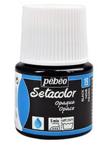 SETACOLOR OPAQUE 45ML BLACK