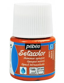 SETACOLOR SHIMMER 45ML BRICK RED