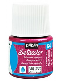 SETACOLOR SHIMMER 45ML RED ORIEN