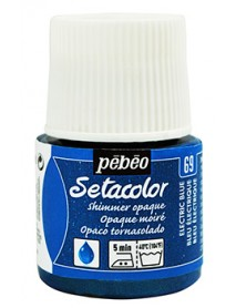 SETACOLOR SHIMMER 45ML ELECTRIC BLUE