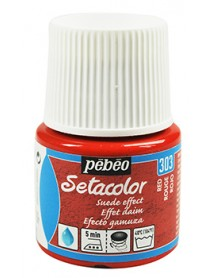 SETACOLOR SUEDE EFFECT 45ML RED