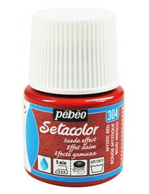 SETACOLOR SUEDE EFFECT 45ML MYSTIC RED