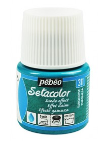 SETACOLOR SUEDE EFFECT 45ML TURQUISE