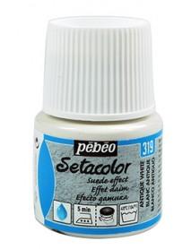 SETACOLOR SUEDE EFFECT 45ML ANTIQUE WHITE